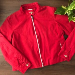 ✨HP✨ Tommy Hilfiger Red Cotton Jacket